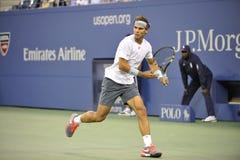 Nadal Rafael bij USOPEN 2013 (13) Stock Afbeelding
