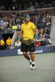 Nadal Rafael in US öffnen 2009 (20) Lizenzfreies Stockfoto