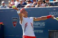 Nadal Rafael at US Open 2008 (134) Stock Photography
