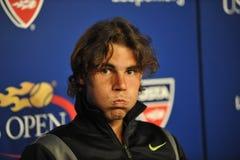 Nadal in US öffnen 2010 (170) Stockfotografie