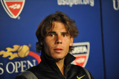 Nadal in US öffnen 2010 (4) Lizenzfreie Stockfotografie