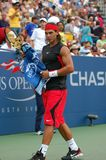 Nadal at US Open 2006 (31) Royalty Free Stock Photography