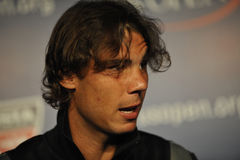 Nadal at US Open 2010 (1) Stock Photo