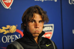 Nadal at US Open 2010 (170) Stock Photography