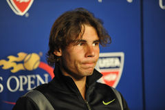 Nadal at US Open 2010 (3) Stock Images