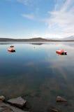 nadal wody jeziora Zdjęcia Royalty Free