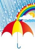 Nadat de regen zonneschijn komt Royalty-vrije Stock Foto