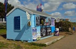 Nadbrzeża orzeźwienia kiosk na deptaka Felixstowe Suffolk Anglia Obraz Royalty Free
