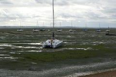 Nadbrzeże Niski przypływ obrazy stock