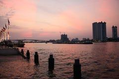 Nadbrzeże rzeki zdjęcia royalty free
