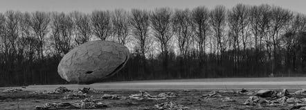 Nadchodzący świat pamięta ja WW1 - Zillebeke - rozmontowywać trwający - obrazy stock