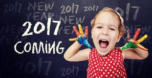 2017 nadchodzących pojęć Zdjęcie Stock