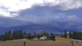 Nadchodząca burza zdjęcie stock