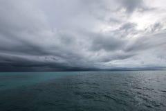 nadchodząca burza wkrótce Zdjęcia Stock