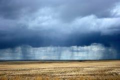 nadchodzące deszcz Fotografia Stock