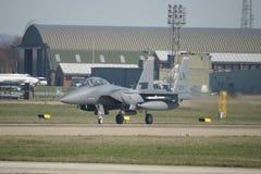 Naddźwiękowego wojskowego strumienia bojowy samolot Obrazy Royalty Free