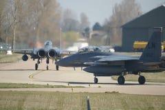 Naddźwiękowego wojskowego strumienia bojowy samolot Zdjęcia Stock