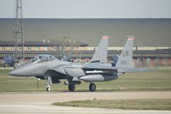 Naddźwiękowego wojskowego strumienia bojowy samolot Obraz Stock