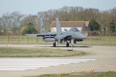 Naddźwiękowego wojskowego strumienia bojowy samolot Zdjęcia Royalty Free