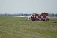 Naddźwiękowego wojskowego strumienia bojowy samolot Zdjęcie Royalty Free