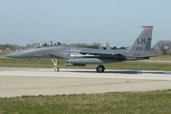 Naddźwiękowego wojskowego strumienia bojowy samolot Fotografia Royalty Free