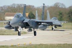 Naddźwiękowego wojskowego strumienia bojowy samolot Fotografia Stock