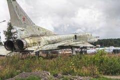 Naddźwiękowy bobmer Tupolev Tu-22M1 zdjęcia royalty free