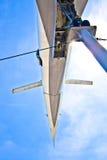 Naddźwiękowy samolotu Tupolev zdjęcie royalty free