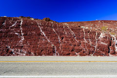 Nadeau Trial, Highway 190, Death Valles National Park Stock Photo