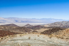 Nadeau Trial, Highway 190, Death Valles National Park Royalty Free Stock Images