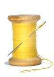 Nadel und Baumwolle Stockfoto