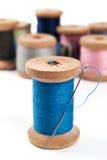 Nadel und Threads Lizenzfreie Stockbilder