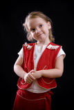 Nadenkend meisje Royalty-vrije Stock Afbeelding