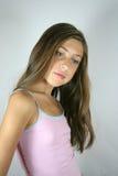 Nadenkend portret het meisje Royalty-vrije Stock Foto's