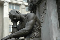 Nadenkend standbeeld Royalty-vrije Stock Foto