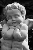 Nadenkende engel Royalty-vrije Stock Foto's