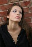 Nadenkende vrouw Royalty-vrije Stock Foto