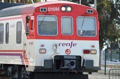 Naderbij komende trein Royalty-vrije Stock Foto