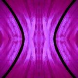 naderend het gebrandschilderde glas in roze en rode kleuren, met symmetrie en bezinningseffect, achtergrond en textuur royalty-vrije illustratie