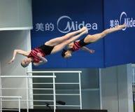 Nadezda Bazhina und Svetlana Filippova von Russland Stockfoto