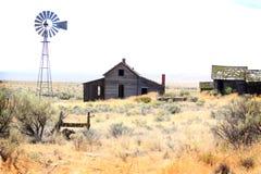 nadgraniczna farma Zdjęcia Royalty Free