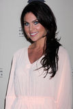 Nadia Bjorlin arrives at the ATAS Daytime Emmy Awards Nominees Reception Stock Images