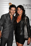 Nadia Bjorlin, Brandon Beemer Stock Images
