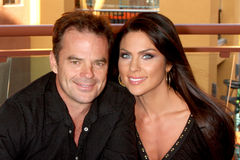 Nadia Bjorlin, Wally Kurth Stock Image