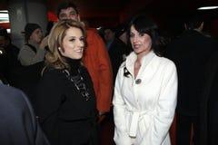 Nadia Comaneci and Marilena Hagi Royalty Free Stock Image
