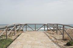 Nadie en la playa hoy Fotografía de archivo libre de regalías