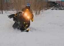 Nadim,俄罗斯- 2008年4月20日:Snoukross 瓦迪姆Vasuhin跳  免版税库存图片