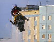 Nadim, Russland - 21. Februar 2009: Snoukross Stockbilder