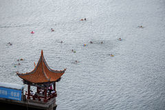 Nadjeziorny miasto Dal, w Chiny Yunnan prowinci Zdjęcie Royalty Free