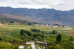 Nadjeziorny miasto Dal Yunnan Chiny Zdjęcia Stock
